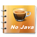 No Need For Java!. This is a Java free zone. Say no to Java.