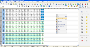 Screenshot of SSuite OmegaOffice - Accel Spreadsheet HD Version. Updated for the latest Dekstop, Laptop, and Surface Pro tablets.