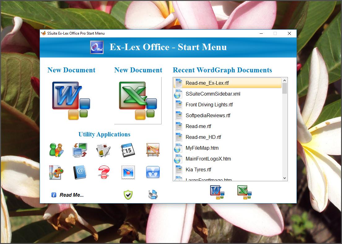 SSuite Ex-Lex Office Pro full screenshot