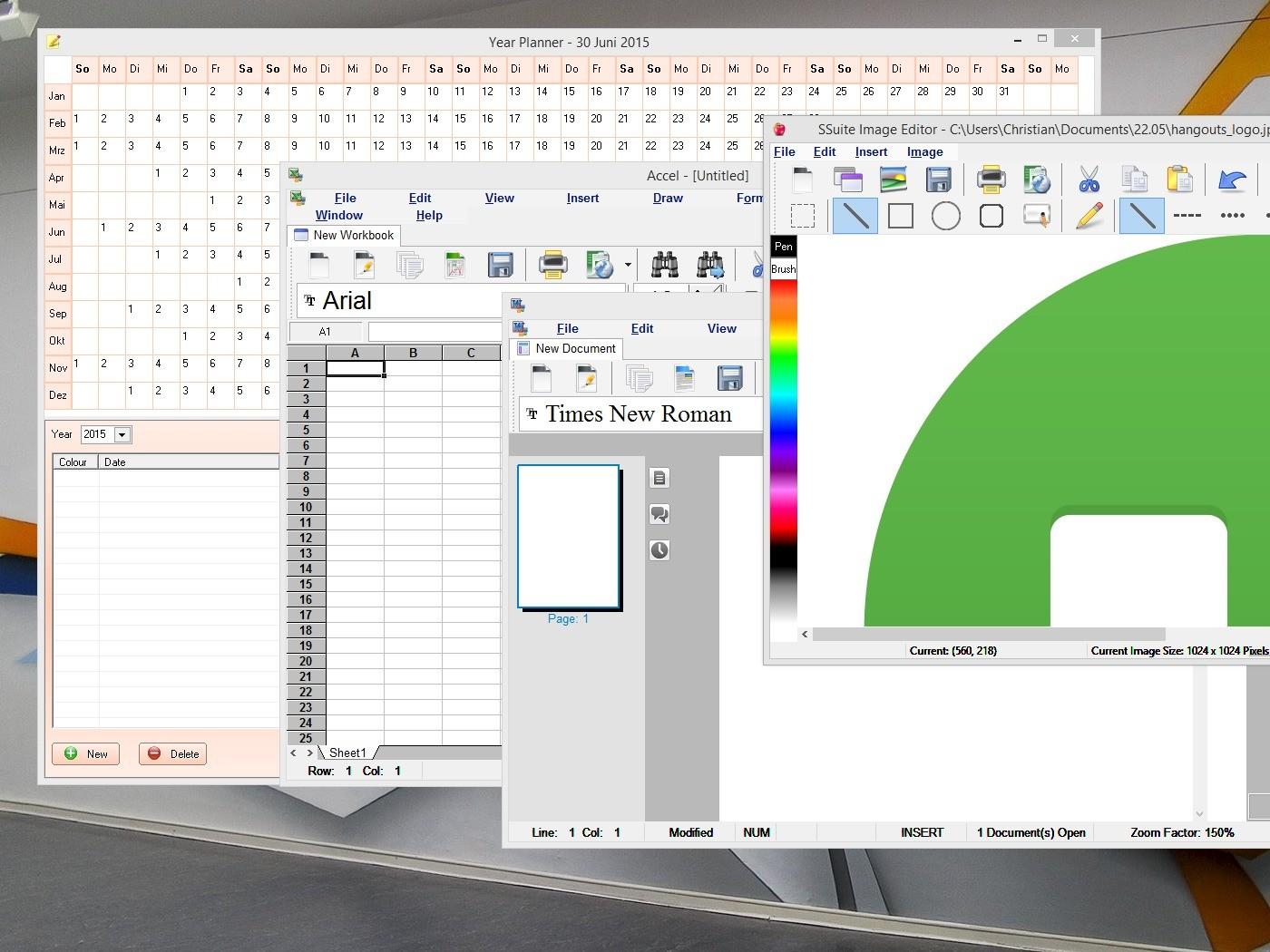 SSuite Office - Premium HD full screenshot